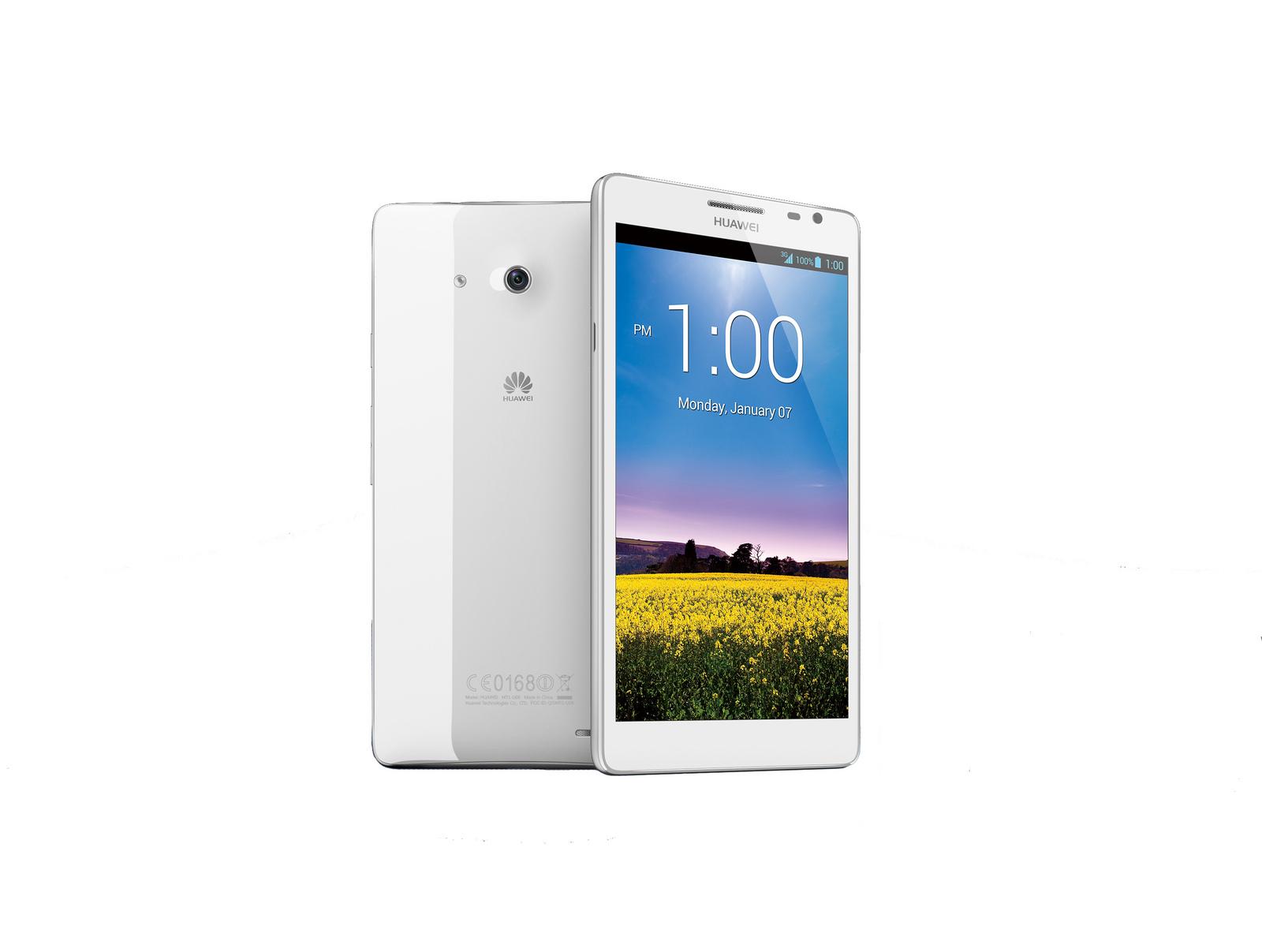 Novità CES 2013| Huawei presenta lo smartphone con lo schermo più grande al mondo!