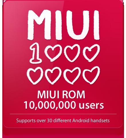 News Terminali | MIUI festeggia 10 milioni di utenti