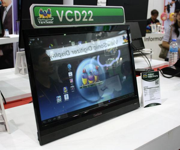 Novità CES 2013| ViewSonic VCD22: il tablet da 22 pollici
