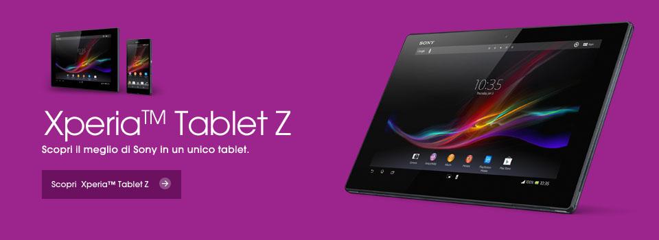 Novità Terminali| Sony ci mostra in video il display di Xperia Tablet Z