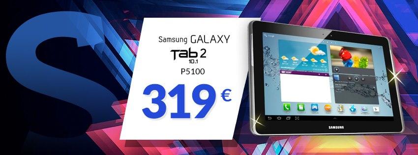 Acquisti Intelligenti| Offerta speciale per Galaxy Tab2 10.1 a soli 319€!