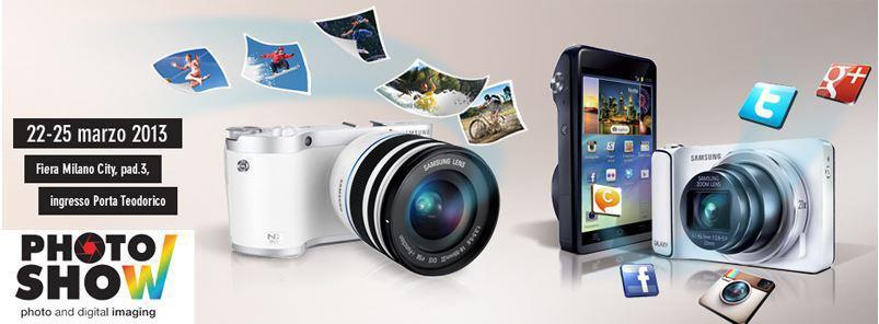 Novità Accessori| Samsung apre le porte del Photoshow 2013