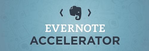 Novità| Evernote ha annunciato un nuovo programma 'Evernote Accelerator'