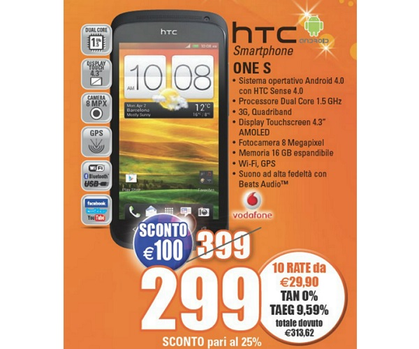 HTC-One-S-in-offerta