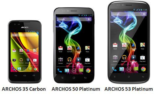 Novità Terminali| Archos annuncia la sua prima linea di Smartphone