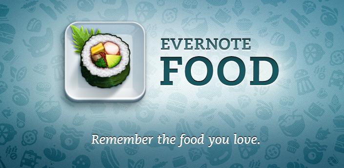 Novità Apps| Nuovo aggiornamento per Evernote Food!