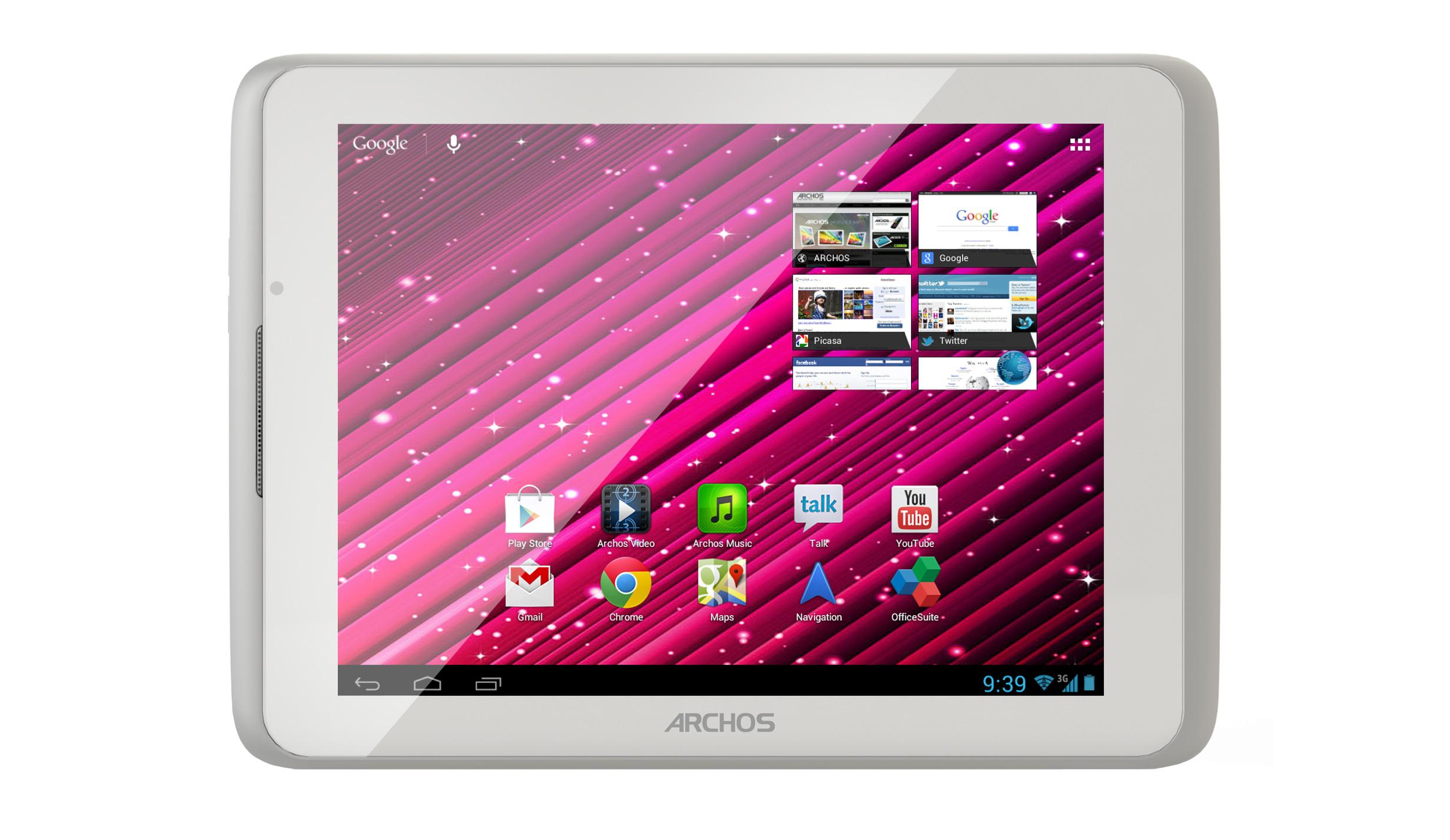 Novità| Archos presenta 80 Xenon, il nuovo tablet della serie Elements