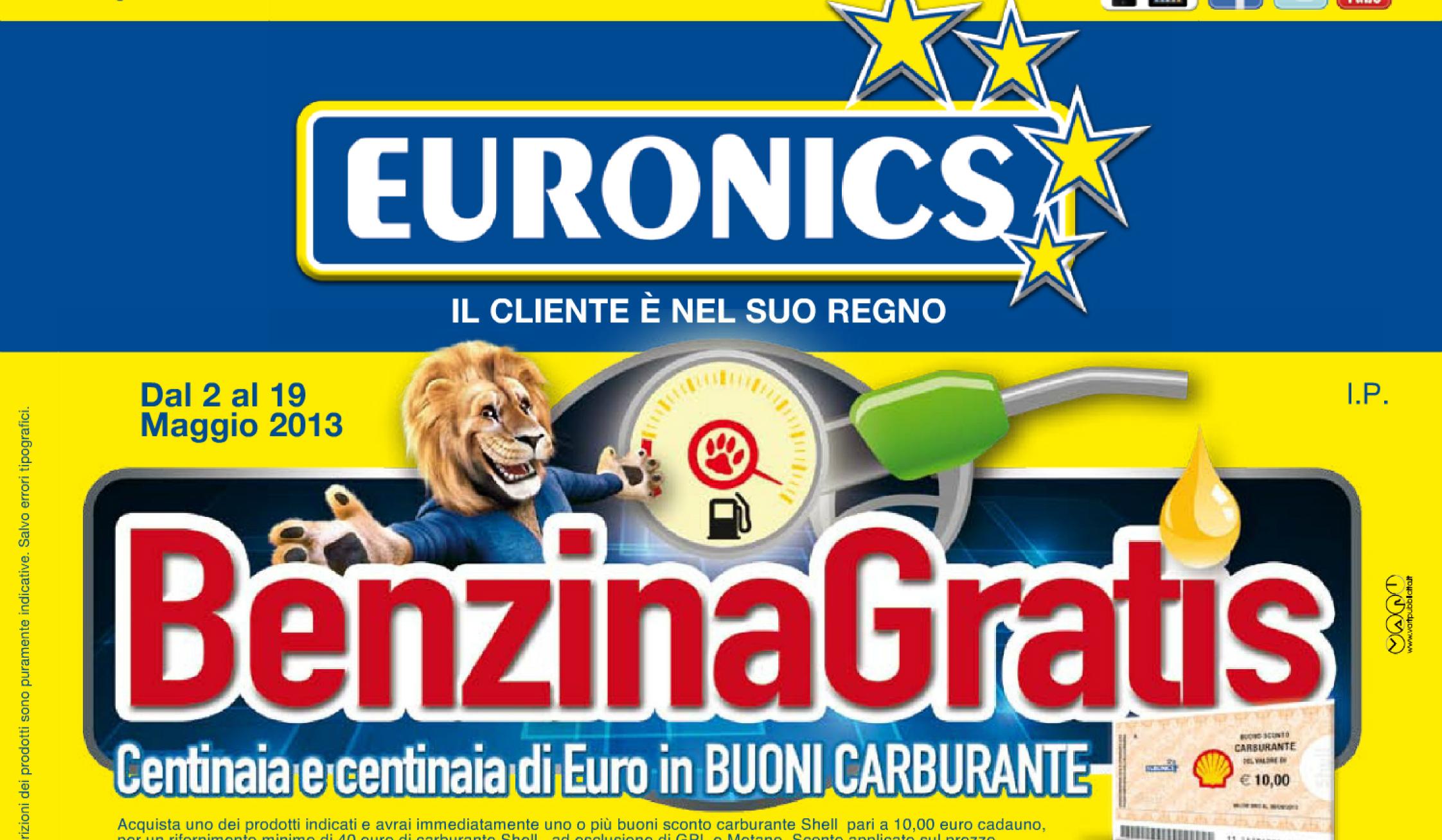 Acquisti Intelligenti| Con Euronics hai la benzina Gratis!