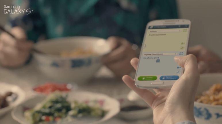 Novità| Nuovo spot pubblicitario per Galaxy S4