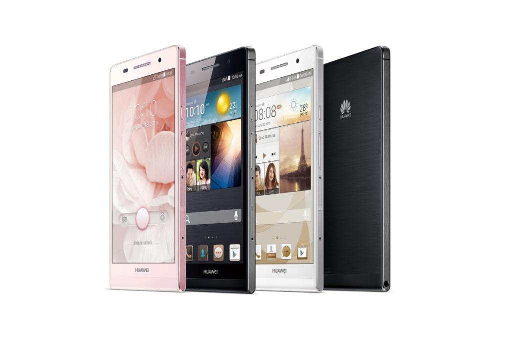 Novità| Huawei annuncia lo smartphone più sottile al mondo 'Ascend P6'