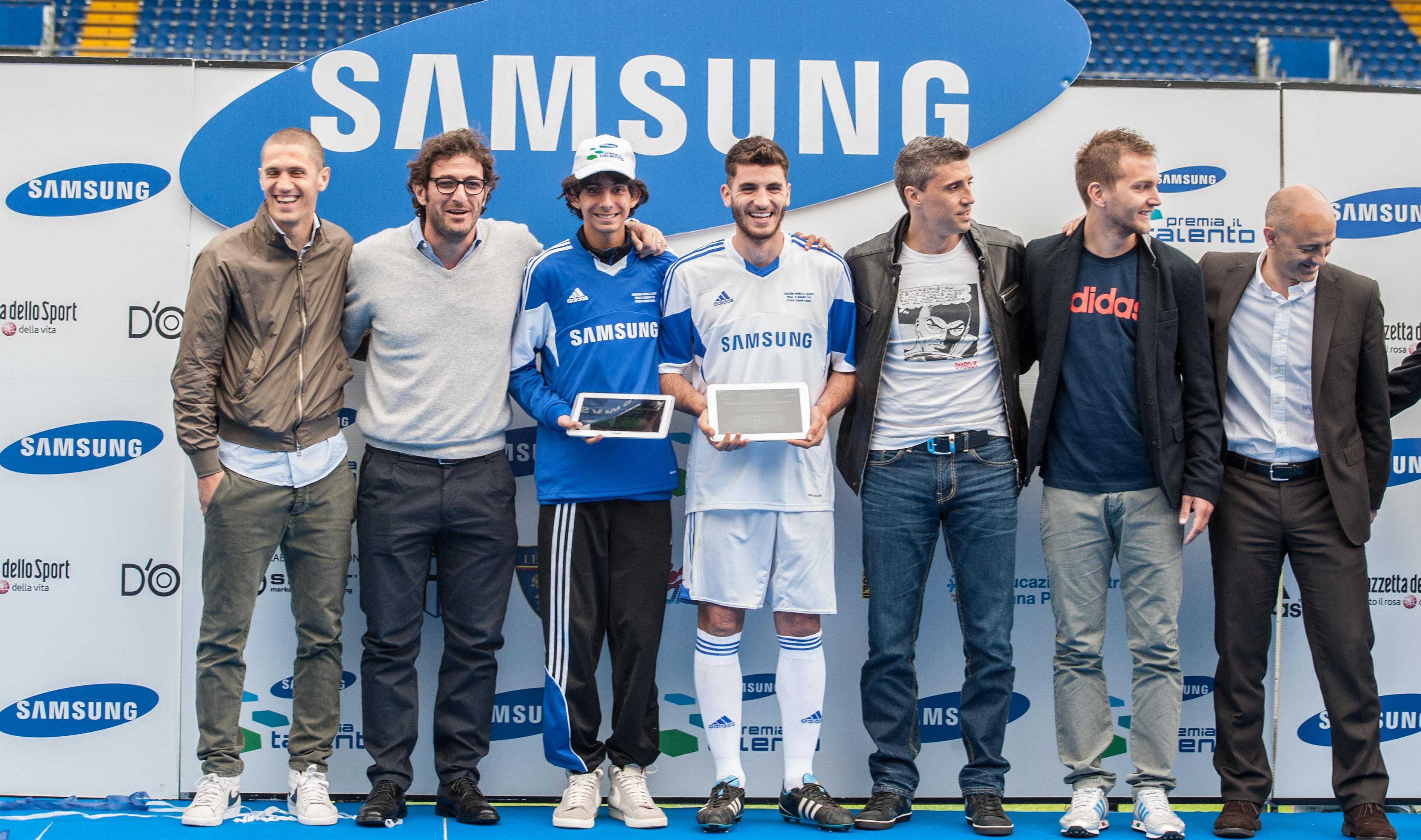 Novità| Finalisti Samsung premia il talento