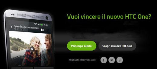 Novità| Scopri come vincere il nuovo HTC One!
