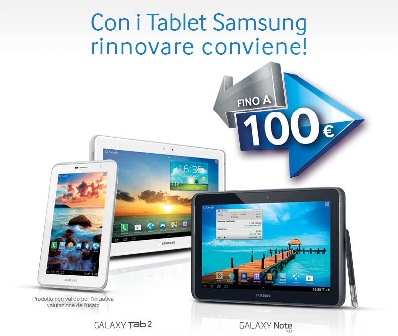 Novità| Con Samsung hai fino a 100€ di sconto sui tuoi acquisti!