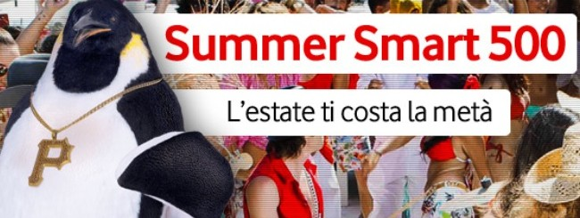 Novità| Con Summer Smart 500 l'estate ti costa la metà!