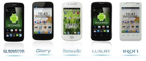 Novità| Brondi lancia cinque smartphone Android low cost