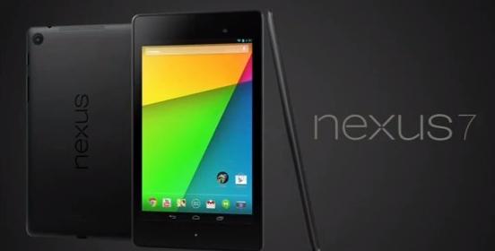Novità| Annunciato ufficialmente Nexus 7 con Android 4.3