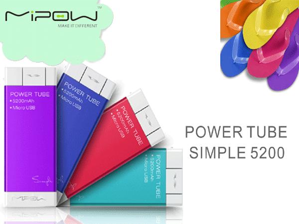 Novità| Mipow PowerTube, la batteria da borsetta per stare in carica con stile!