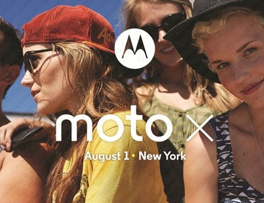 Novità| Motorola Moto X: presentazione ufficiale prevista per il 1 Agosto!
