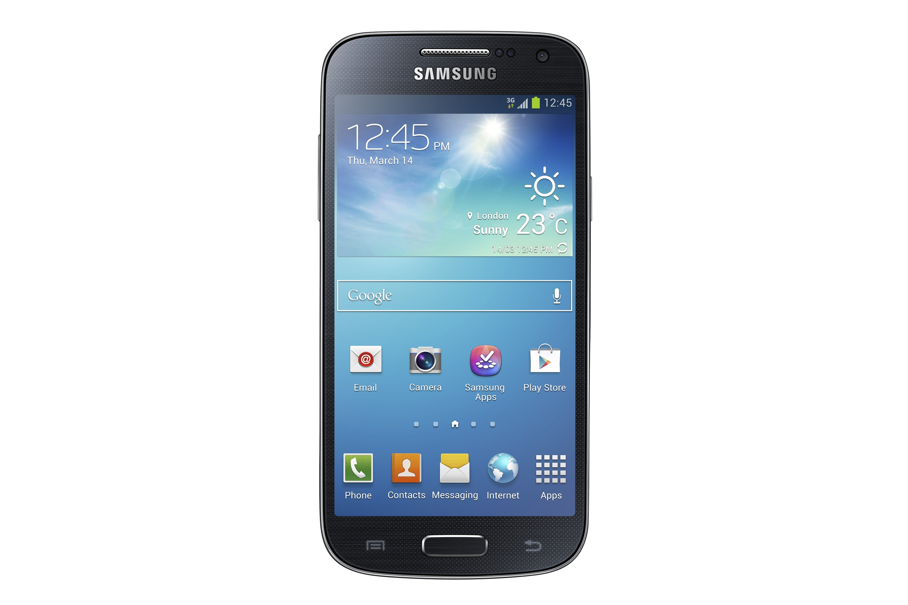 GALAXY S4 mini_Front_black