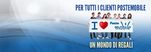 Novità| Con I Love PosteMobile hai fino a 12 mesi di minuti gratis..!