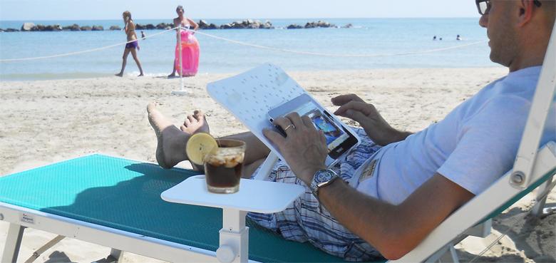 Novità| Anche in vacanza non ci si priva del proprio dispositivo