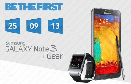 News | Ecco i prezzi dei nuovi Galaxy: Gear a 299 euro e Note III a 729 euro!