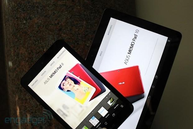 News IFA 2013 | Asus presenta MeMO Pad 8 e MeMO Pad 10, tablet con processore quad-core! [foto]