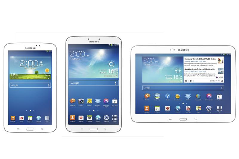 Novità  I Galaxy Tab3 a lavorare dietro le quinte!