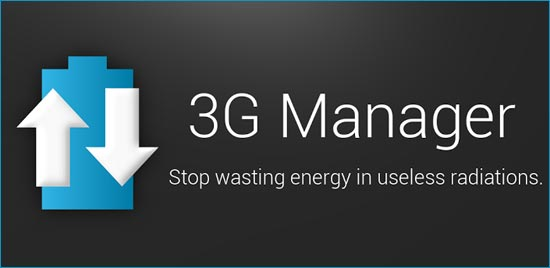 News Apps | Con Gestore 3G gestisci la tua Connessione Dati in Automatico risparmiando Batteria!
