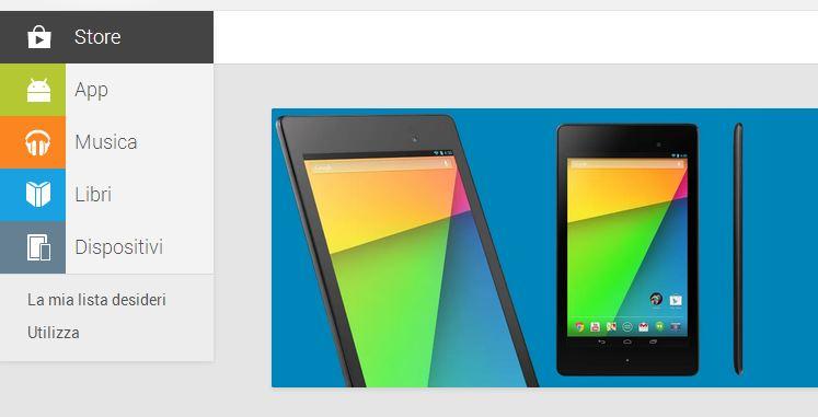 News | Play Device arriva ufficialmente in Italia disponibile già da ora Nexus 7 2013 a breve arriverà Nexus 5!