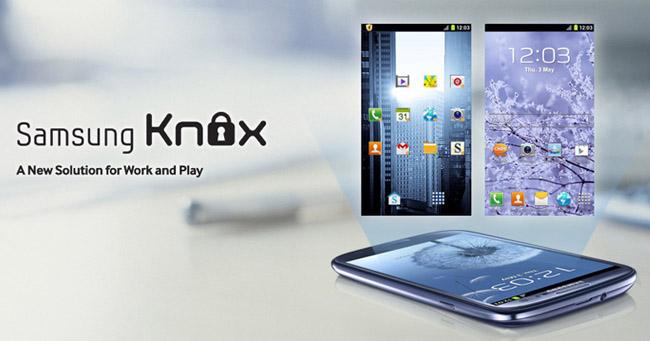 Novità| Samsung presenta Knox, una soluzione per lavoro e divertimento