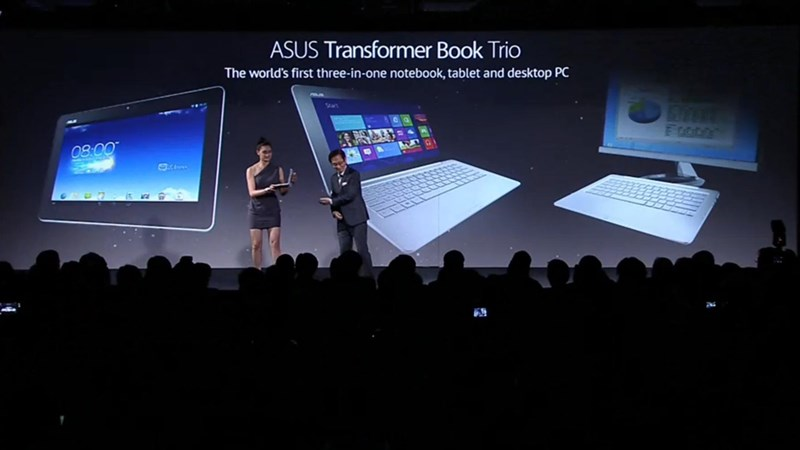 Novità| Asus Transformer Book Trio, l'ultraportatile 'tre in uno'!
