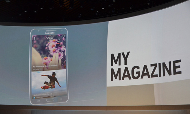 Novità IFA2013| Galaxy Note III permette di organizzare news, social media e contenuti di intrattenimento a proprio piacimento.
