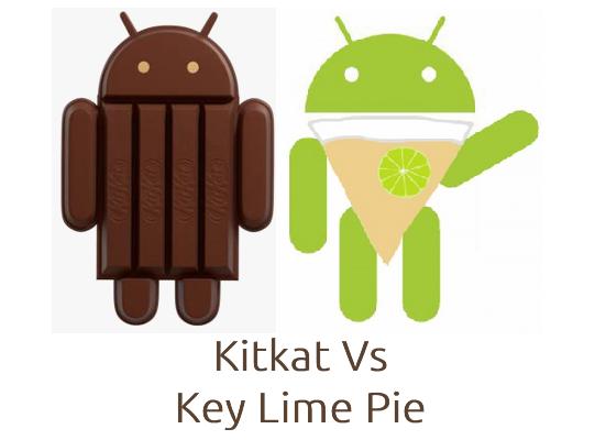 Kitkat+vs+Key+lime+pie+Android
