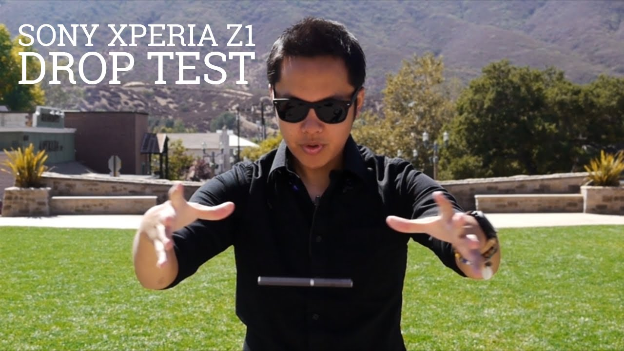Novità| Drop test per Xperia Z1