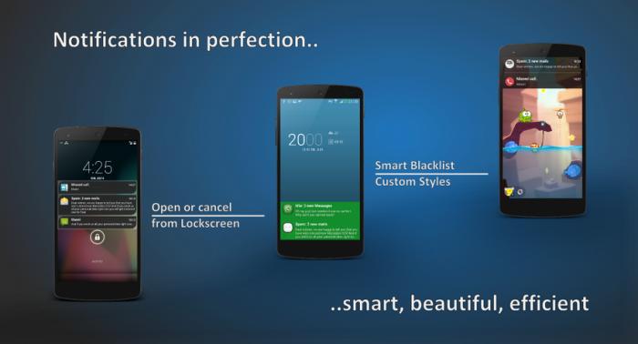 Notifiche in stile Android L ecco come averle su tutti i vostri Android