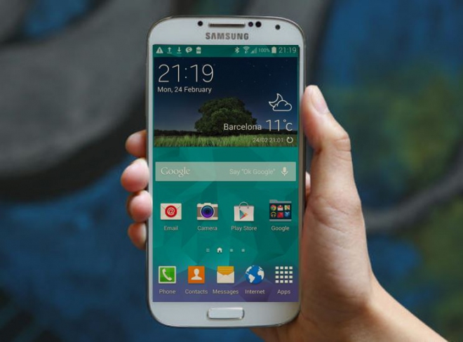 Samsung Galaxy S4 eccolo in un video con Android 5.0 Lollipop