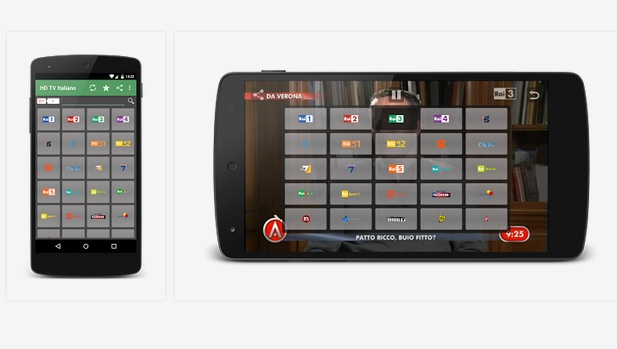 Ecco come vedere la tv in streaming sullo smartphone e tablet.