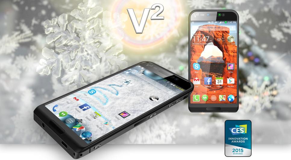 CES2015 | Direttamente da Las Vegas, ecco lo smartphone che offre fino 320 GB di memoria