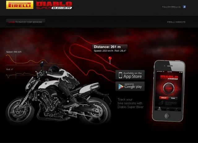 Diablo Super Biker, l'applicazione ideale per i Motociclisti