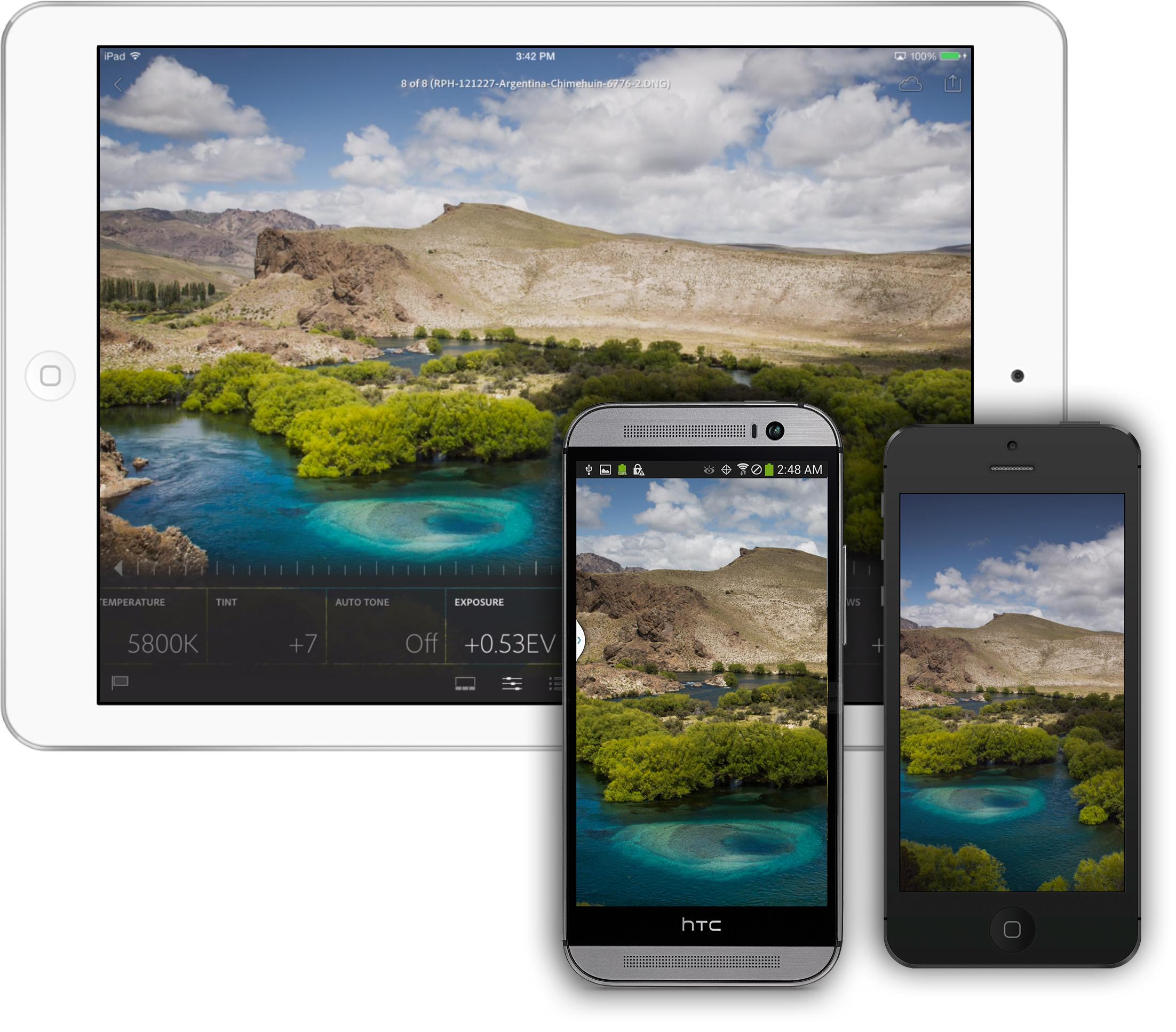 Adobe Lightroom Mobile ora disponibile sugli smartphone Android
