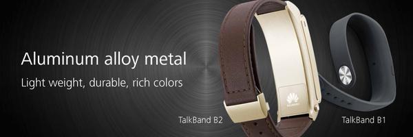 Huawei presenta TalkBand B2 e TalkBand N1 al MWC 2015 di Barcellona