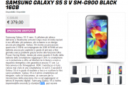 Samsung Galaxy S5 in offerta a 379,00€