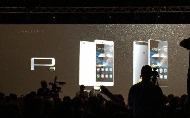 P8, il nuovo top di gamma di Huawei