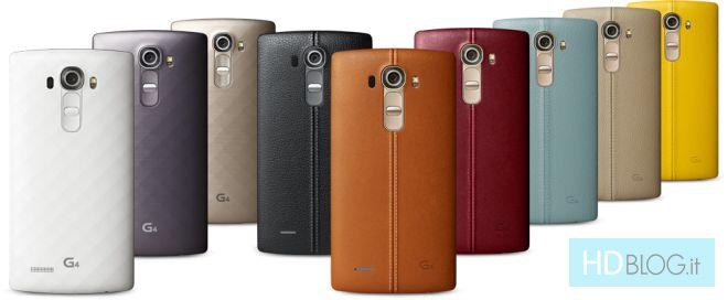 LG G4 ufficiale, scopriamolo insieme [foto e video]
