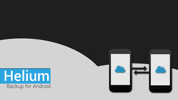 Helium Carbon backup per android