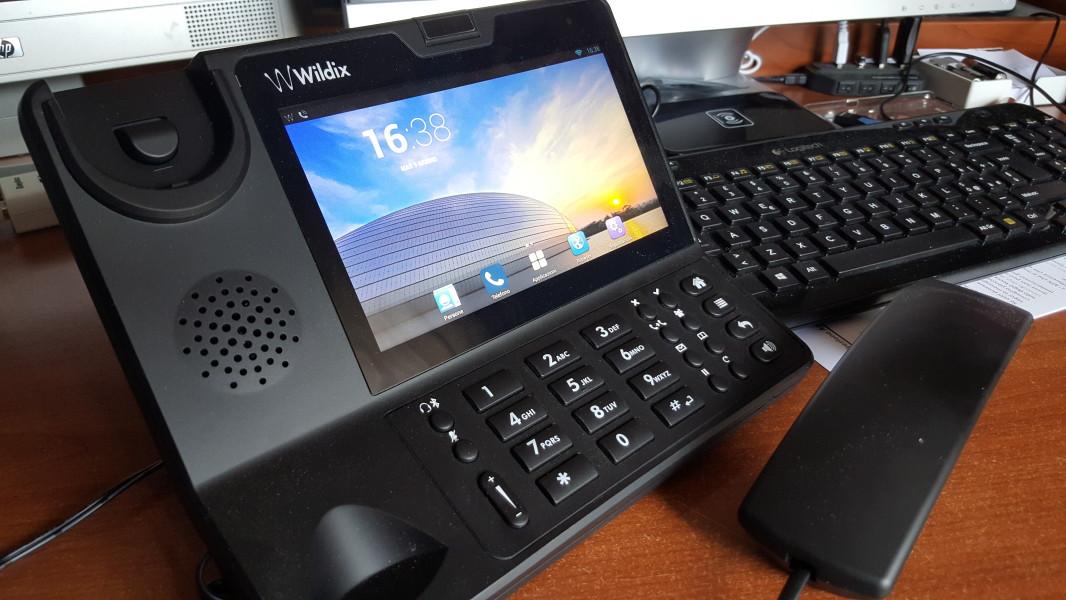 Le nostre Prove | Wildix WP600A : i pregi di un Tablet racchiusi in un telefono fisso!