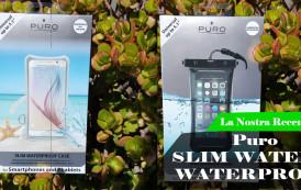 Recensione | Puro SLIM WATER  e WATERPROOF per un'estate impermeabile.