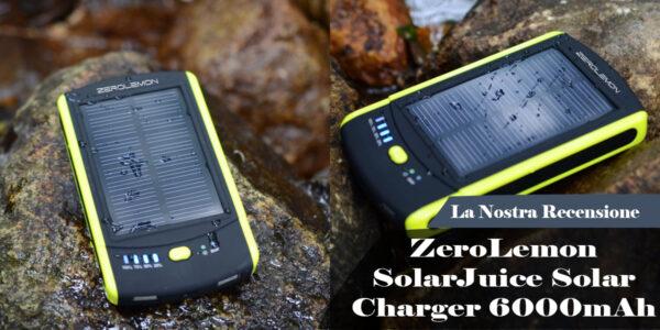 ZeroLemon SolarJuice Solar Charger 6000mAh