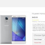 Huawei Honor 7 disponibile all'acquisto in tutto il Mondo